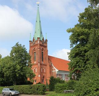 Kirche Moorfleet